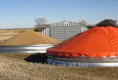 Быстровозводимое зернохранилище