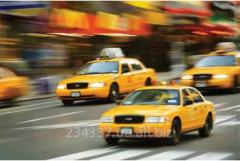 Systems of monitoring of a taxi pool Quant-taxi