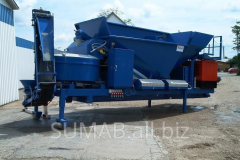 Asphalt plant for production of cold SUMAB