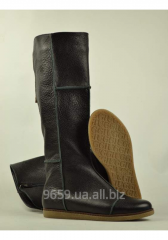 "Leather women's boots ""Prima 1"