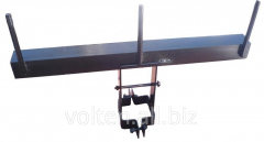 Metalwork for transmission lines. Traverses of TH,