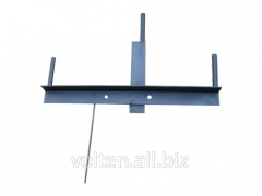Metalwork for transmission line towers. Brackets