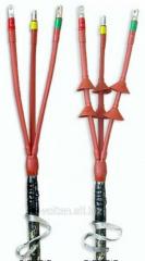 Термоусаживаемые кабельные муфты: концевые кабельные муфты внутренней и наружноу установки, соединительные кабельные муфты, ответвительные кабельные муфты, переходные кабельные муфты.