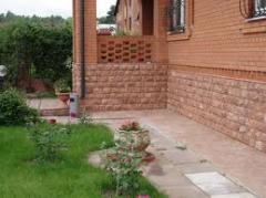 Granite tile. The company makes a raznoobrazna a