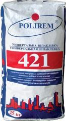 Cement filling 421, 25 of kg