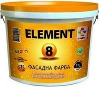 Water and dispersive front ELEMENT 8, 10 paint of