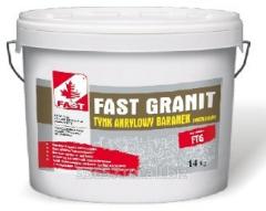 Mosaic granite FAST GRANIT plaster premium, 14 kg
