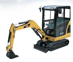 Excavators are hydraulic caterpillar, the