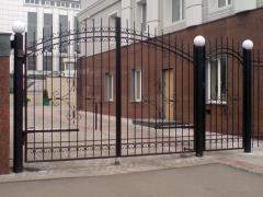 Ворота кованые. Ковка. Калитки, заборы,