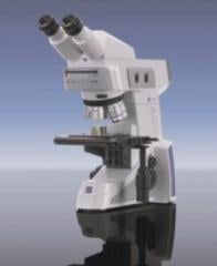 The laboratory inverted microscope of the