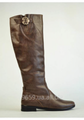 "Leather women's boots of ""Gerd"