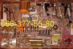 Spare parts on the painting unit Wagner, the