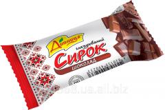 Сырок глазированный с шоколадной начинкой ТМ
