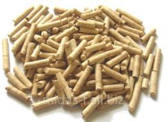Pine pellets.