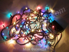 Electric Christmas garland of 100 lamps (GS-4