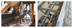 The chain scraper conveyor to 660 m ³ / h