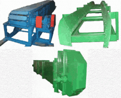 Elevators, tape, lamellar, suspended conveyors of