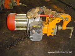 Machine rail-drilling CTP1