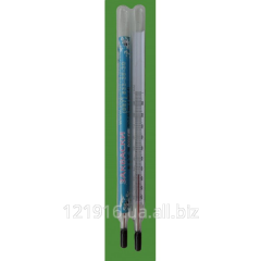 The thermometer glass for measurement of