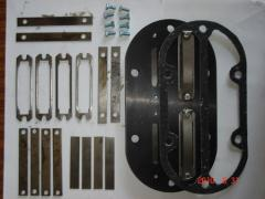 Spare parts to compressors. Valvate plate of the