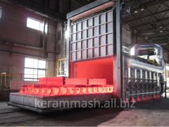 FURNACE HEATING CHAMBER shuttle kilns and gas