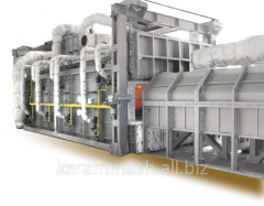 HEAT railway casting special pass gas furnace