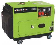 Дизельна миниэлектростанция DJ 8000 DG- ТE