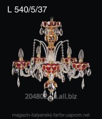 Chandelier crystal art of L 540/5/37