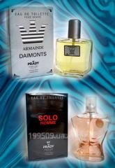 Perfumery Armani toilet water, spirits, perfume