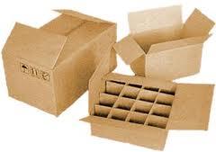 Tara from a corrugated cardboard, sale of a