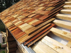 """WOODEN ROOF OF """"GONT"""""""