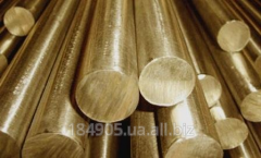 Circle of brass 100x3000 L63 GOST 2060-90