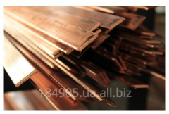 Strip of copper 10x100x4000 M1 firm GOST 495-92