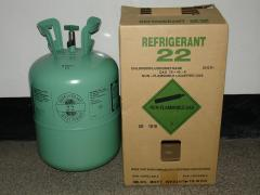 R-22 FREON. Industrial chemistry. Chemical