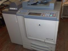 Color printer of the modular Konica Minolta bizhub