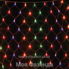 Christmas garlands of a grid of 156 lamps (GS-10