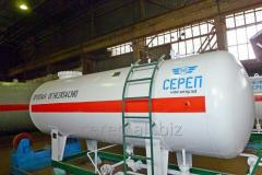 Резервуар для сжиженных углеводородных газов (СУГ) надземный М2-СР001.000