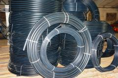 Plastic pipes for a water supply system, an