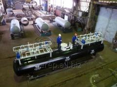 Резервуар для сжиженных углеводородных газов (СУГ)