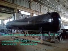 Резервуар для сжиженных углеводородных газов (СУГ) надземный СР051.000.00