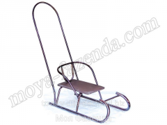 Sledge winter nurseries with the handle and a back
