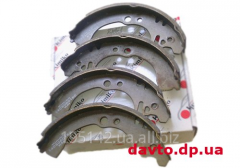 Back brake shoes with ABS Geely CK Kimiko,