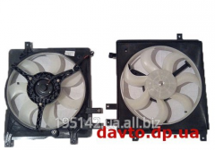 Fan of a radiator of the right, 5 fastenings Geely