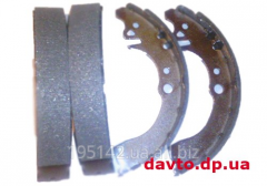 Back brake shoes, with ABS Geely CK, CK2,