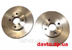 Disk brake back BYD F3, art.bydf3-3502102