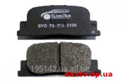 Blocks brake back BYD F3 Kimiko,