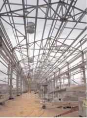 Металлоконструкция для тяжелого металлургического оборудования