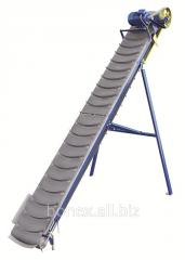 Conveyors krutonaklonny tape (conveyors)