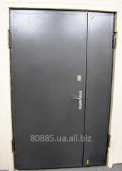 Doors are metal armor