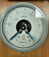 Манометр ДМ2005Сг электроконтактный (ЭКМ-1У)